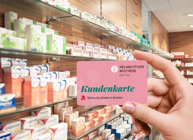 Melanchthon Apotheke Bretten - Kundenkarte